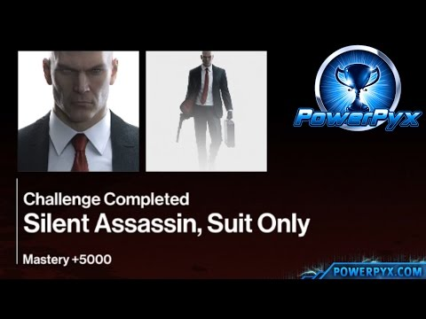 Hitman - World of Tomorrow Sapienza - Silent Assassin, Suit Only Challenge