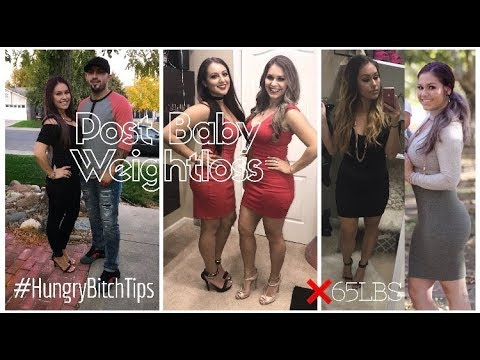 How to LOSE WEIGHT after KIDS   I lost 65LBS in 10 months   Post Pregnancy Weightloss