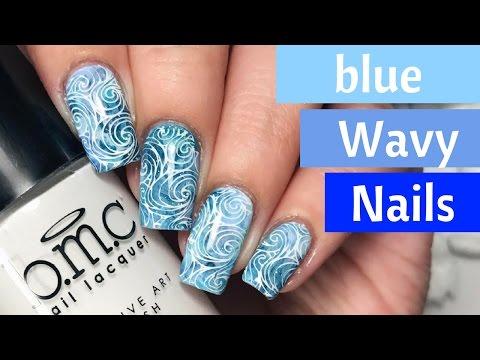 🌊  Smooshed Waves Nail Tutorial! (Part 2) 🌊