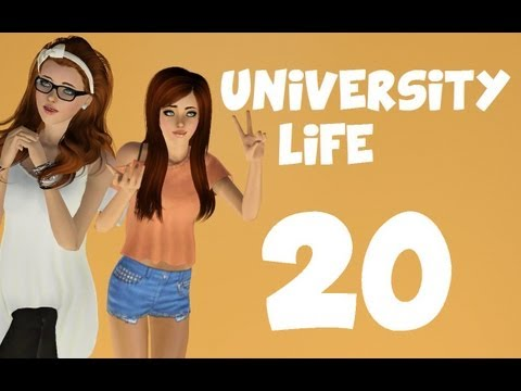 Let's Play: The Sims 3 University Life - (Part 20) - Plant Baby