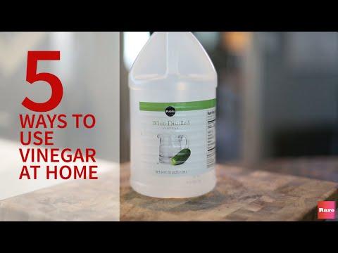 5 Way to use Vinegar at Home   Rare Life