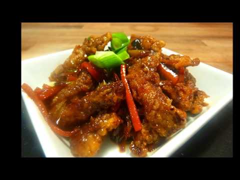 How to make Crispy Beef with Garlic and Ginger