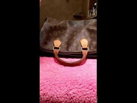 How to clean Louis Vuitton vachetta Video 1