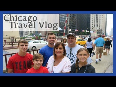 EXPLORING CHICAGO DAY ONE - TRAVEL VLOG