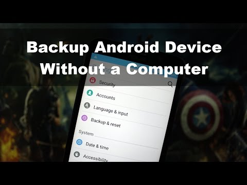 How to Backup Android Data Without a Computer