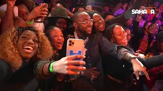 """Davido's """"A Good Time"""" Album Listening Recap At Youtube Space, NYC"""
