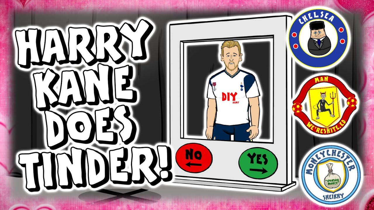 Harry Kane does TINDER: How NOT to convince Kane to join your club!