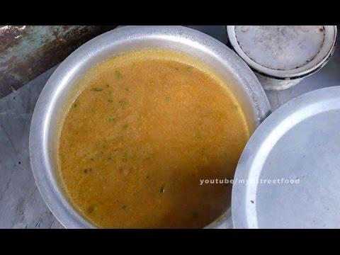PURI CURRY - SIDE DISH OF PURI - 4K VIDEO street food
