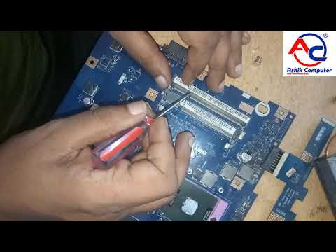 How to Repair Laptop Motherboard | step by step | bangla