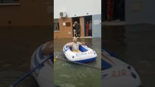 Inundaciones barco La Navidad Huelva