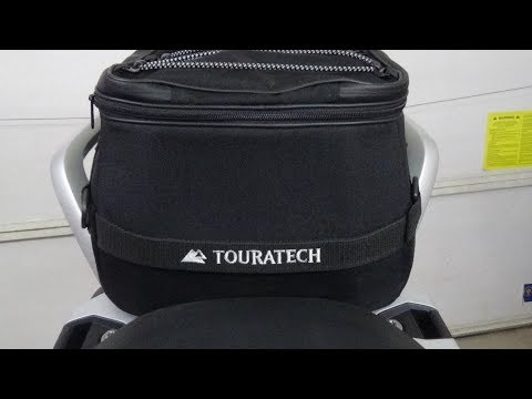 Product Review - TouraTech In Place of Passenger Seat Tail Bag