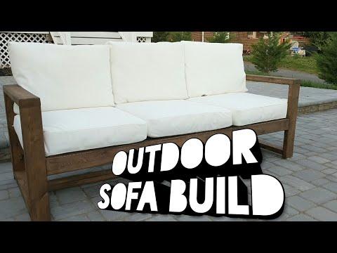 Outdoor Sofa Build