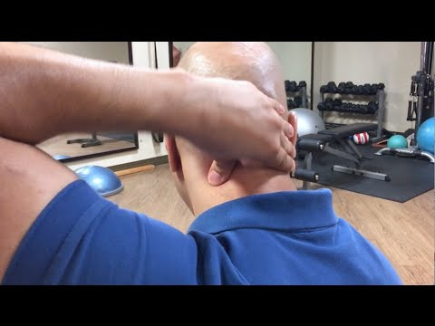 How to find and treat neck trigger points - neck pain trigger point therapy - anterior neck