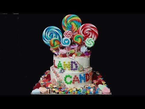 how to make candy land cake