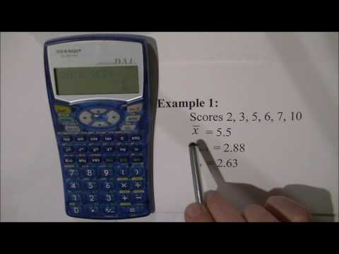 Statistics on the Sharp EL-531WH