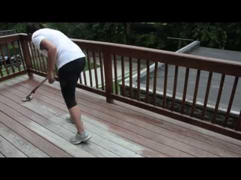 10 Deck Staining Tips - DIY Outdoor Projects - Thrift Diving