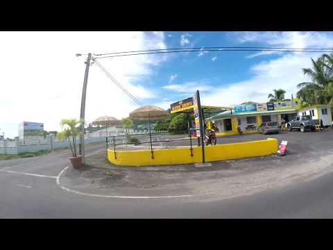 Rarotonga Clockwise bus from south to north