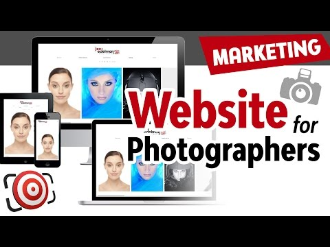 Websites for Photographers.  How to build a photography website to build your photography business.