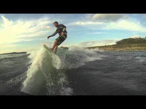 Learning to Wakesurf