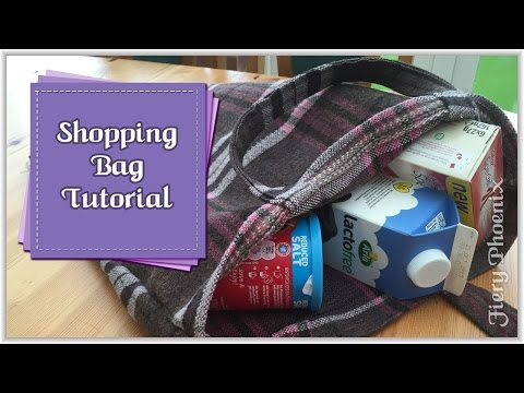 Sew a Shopping Bag :: by Babs at Fiery Phoenix