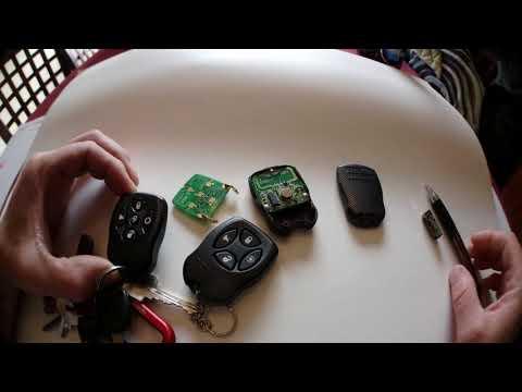 Autostart remote key fob discontinued work around fix. (FCC ID Nahsaw4 ) 4K