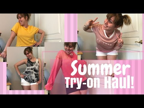 SUMMER TRY-ON HAUL! - 2018