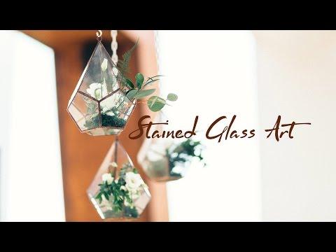 Legeza Stained Glass Art Terrariums