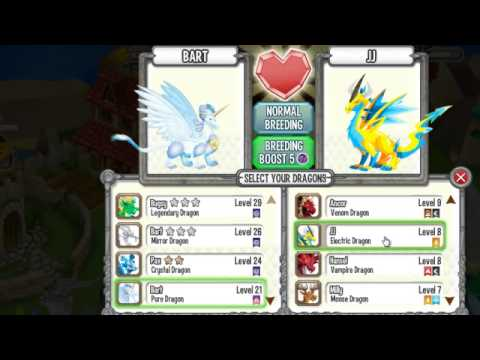 How to Breed the PURE ELECTRIC DRAGON in Dragon City - Breeding Guide