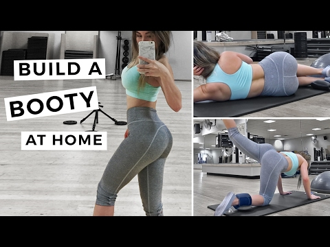 Grow Your Butt At Home | Lean Muscle | Booty Workout