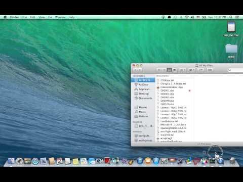 [Mac OS X Tip] How do I move Downloads folder back [ไทย]  [Thai]