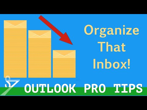 Microsoft Outlook - Creating Folders To Organize Email