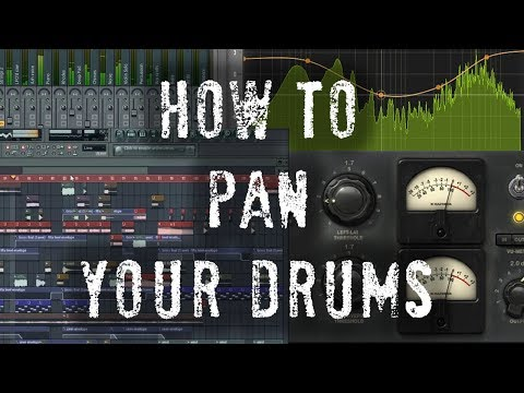 How to Pan Drums - Make Drums Sound Real and Live - 5 Minute Mixing Tips