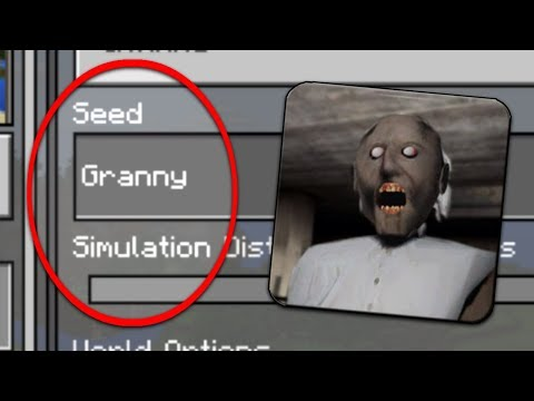 Do NOT Play the GRANNY SEED in Minecraft Pocket Edition (Granny Horror World)