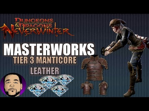 NEVERWINTER HOW TO MAKE MILLIONS OF ASTRAL DIAMONDS! LEATHERWORKING MASTERWORKS! PS4 XBOX PC