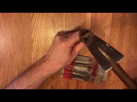 How to fix a squeaky floating floor