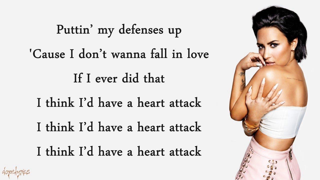 Heart Attack - Demi Lovato (Lyrics)