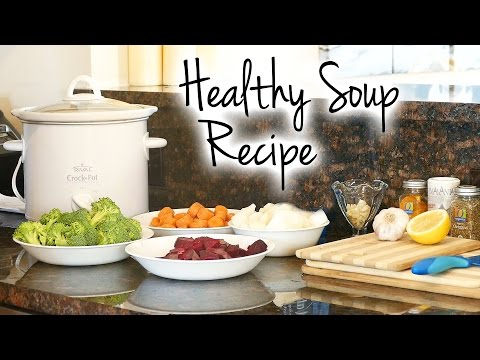 Healthy Soup Recipe for Belly Fat,  Weight Loss, Immune Boost, Healthy Eating Tips, How To,