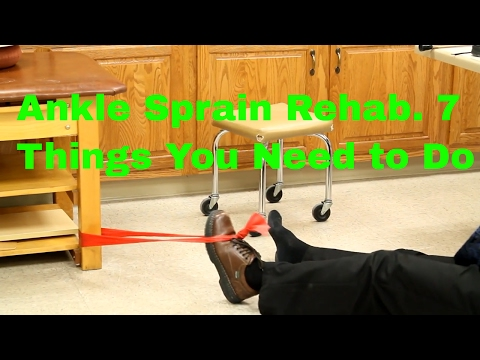 Ankle Sprain Rehab: 7 Things You Need To Do- Stretches, Exercises, & Massage