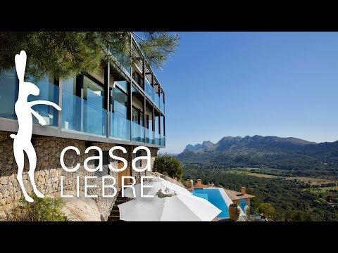 Casa Liebre Luxury Modern Villa Mallorca - interior, exterior & drone footage
