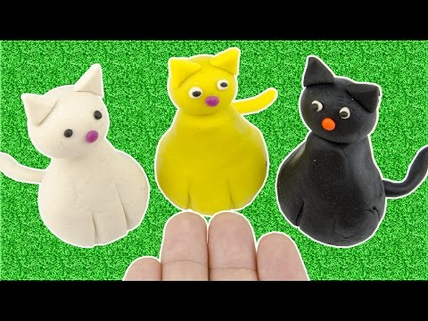 Stop Motion For Kids DIY How To Make Cats With Play Doh Fun