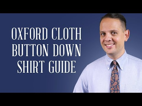 OCBD Oxford Cloth Button Down Shirt Guide