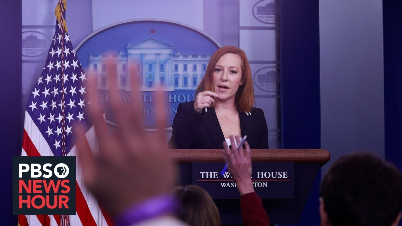 WATCH LIVE: Psaki holds news briefing with climate officials John Kerry, Gina McCarthy