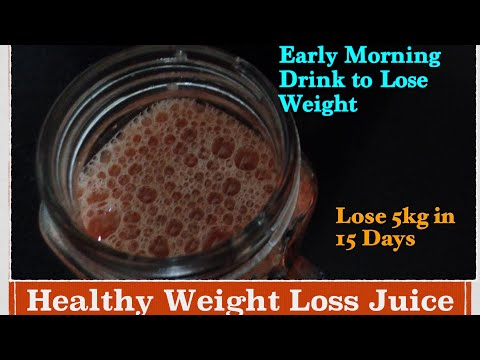 Healthy Drink/juice for weight lose | Lose upto 5 Kg in 15 Days