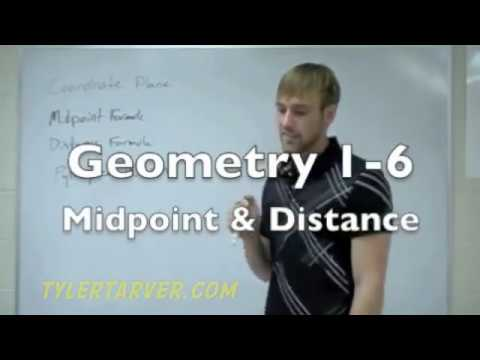 Geometry: 1-6 Finding Midpoint & Distance in the Coordinate Plane