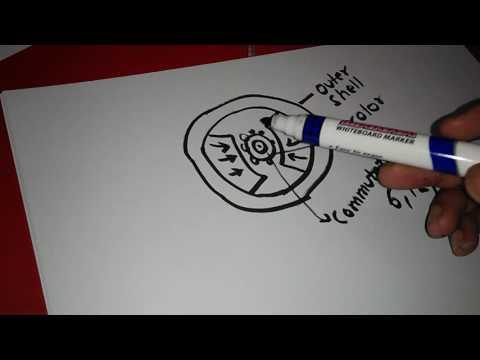 Permanent Magnet DC motor (PMDC)