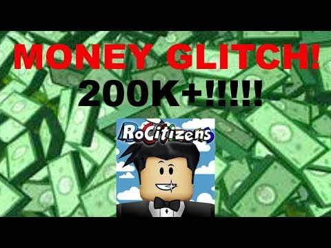 HOW TO GET FREE MONEY IN ROBLOX ROCITIZENS!!!