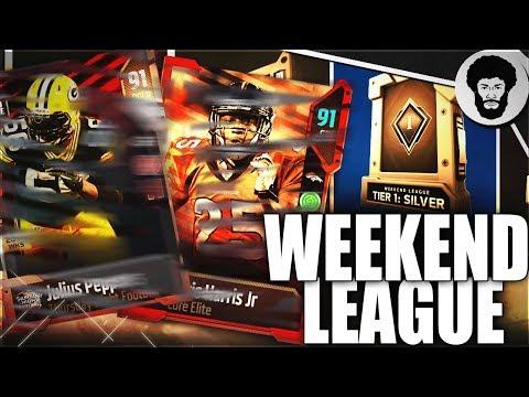 Weekend League Rewards & Qualification | Silver Tier Reward Pack Opening | Madden 18