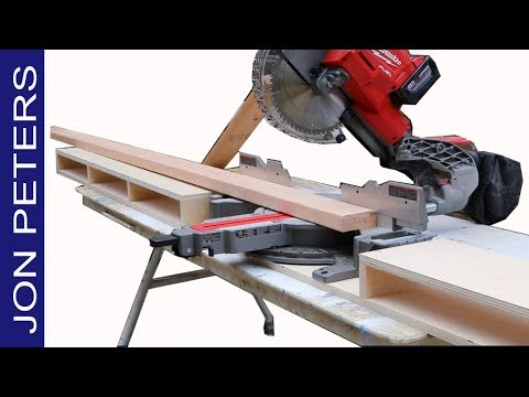 Make a Jobsite Miter Saw Station
