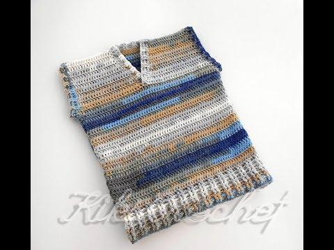 Crochet V-Neck Vest