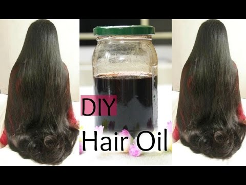DIY:Hair Growth Oil for Long Shiny Hair | Reduce Hair Fall and Grey hair | Naturally